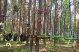 Jarosławiec Atrakcja park linowy Ju-Huu